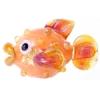 Lamp Bead Puffy Fish 1Pc 28x16mm Orange Bang